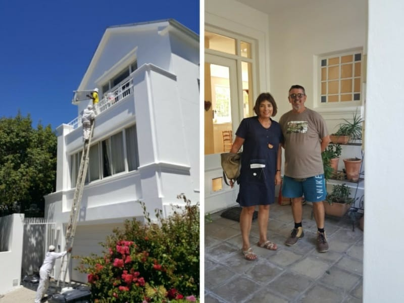 home painters higgovale