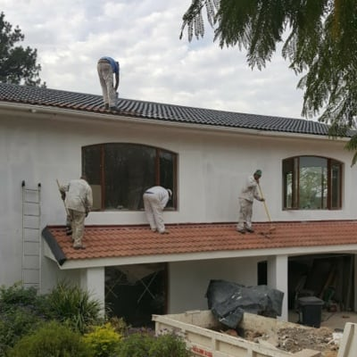 roof painters franschhoek